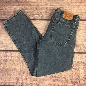 Levi's 516 Jeans Mens Size 32 /30 Medium Wash Blue
